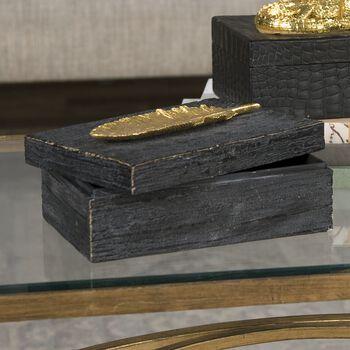 Uttermost Gold Leaf Box