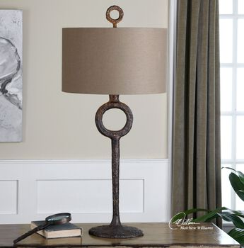 Uttermost Ferro Cast Iron Table Lamp