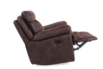 Boulevard Brown Swivel Glider Recliner