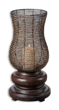 Uttermost Rickma Distressed Candleholder