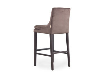 Boulevard Chocolate Bar Stool