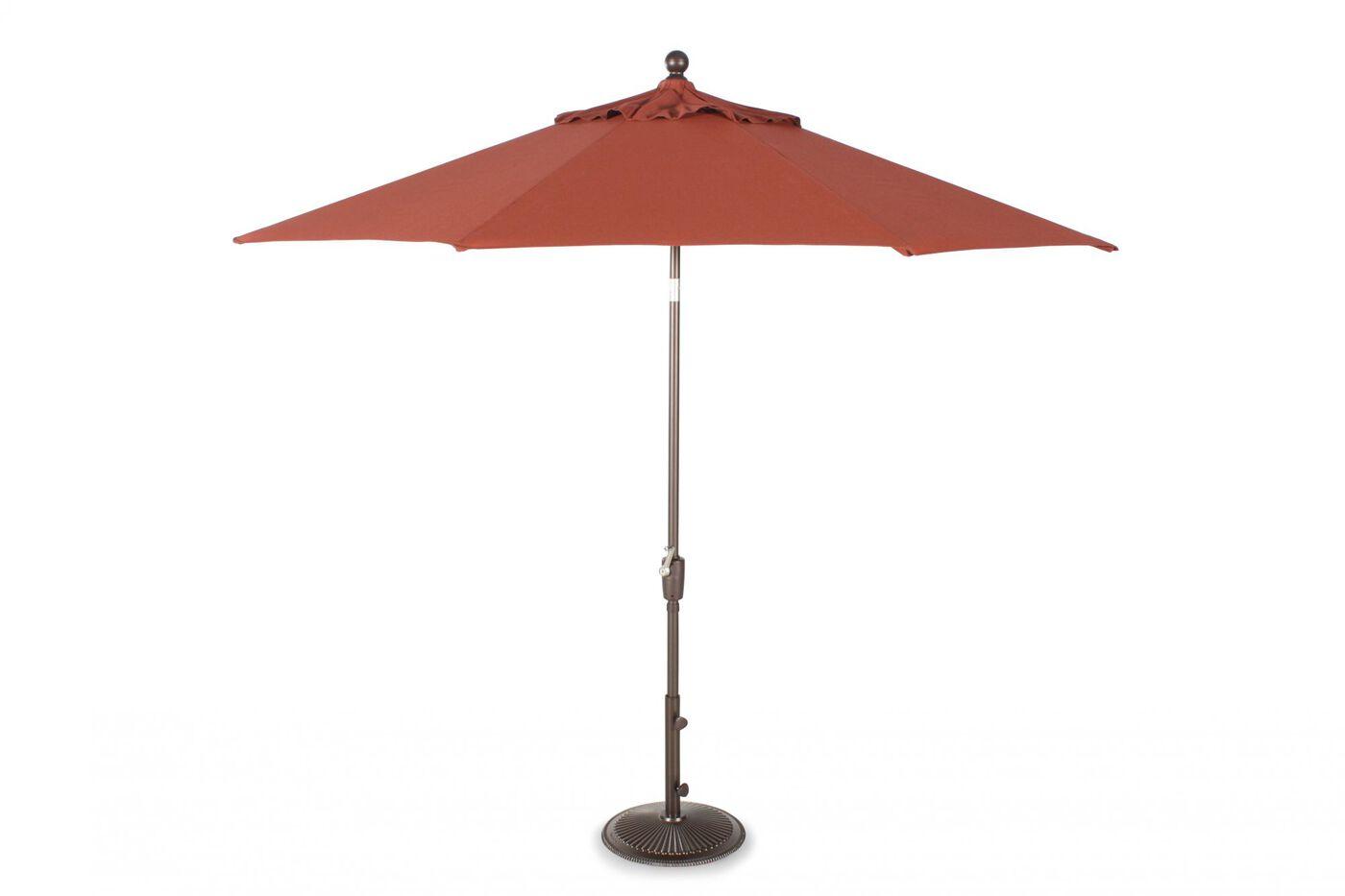 Treasure Garden Henna 9 39 Push Button Umbrella Mathis Brothers Furniture