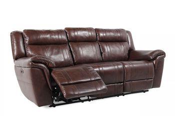 Boulevard Brown Power Reclining Sofa