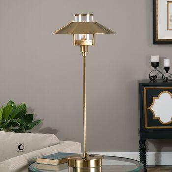 Uttermost Albaretto Brushed Brass Lamp