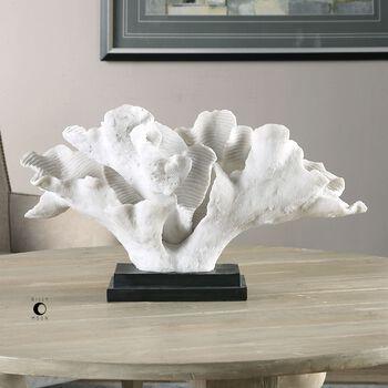 Uttermost Blade Coral Statue