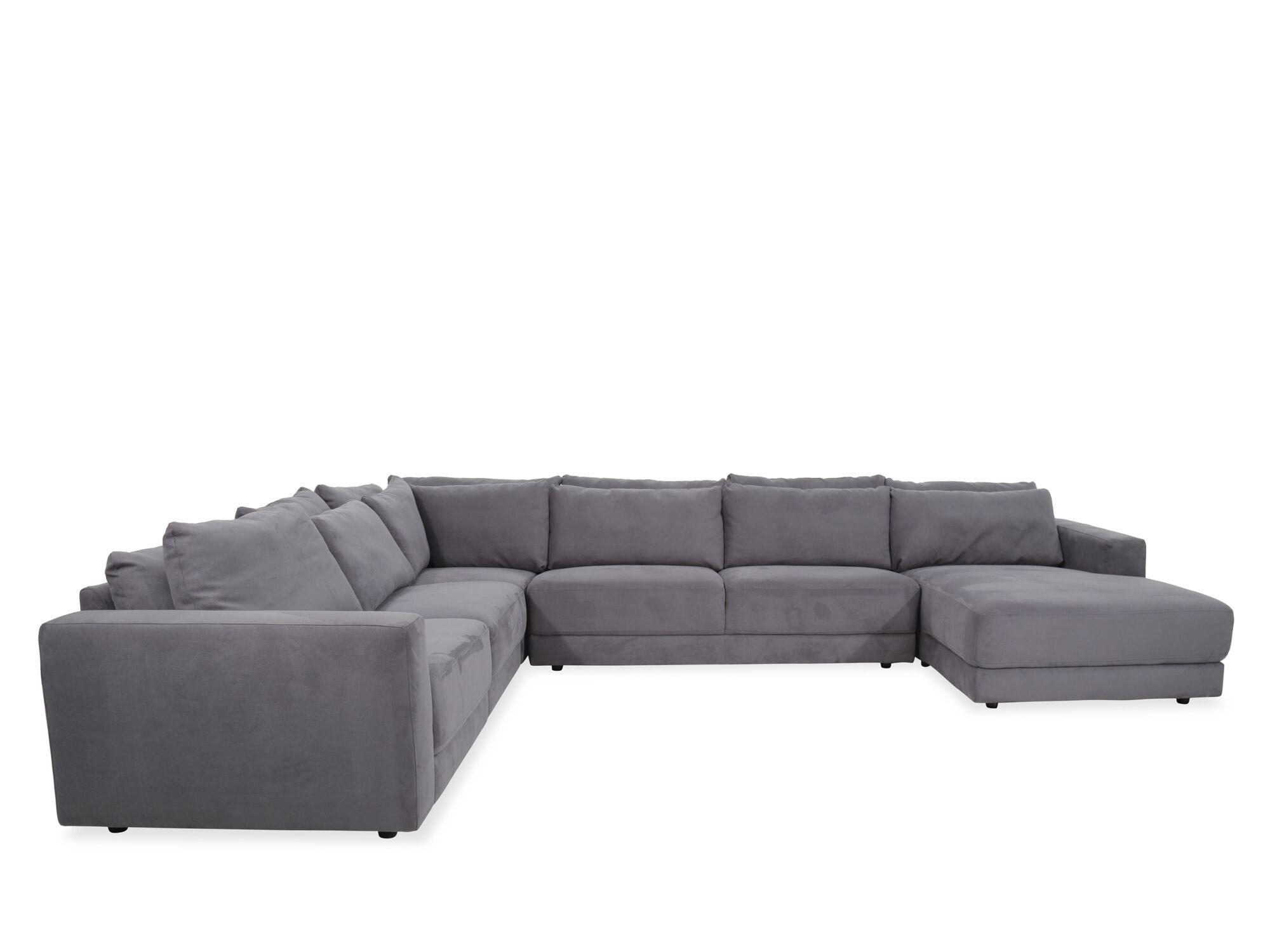 Boulevard Regata Gray FivePiece SectionalMathis Brothers Furniture