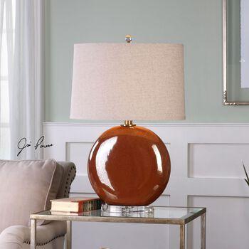 Uttermost Alento Rust Bronze Table Lamp