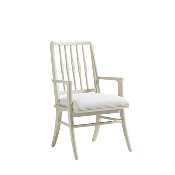 Stanley Crestaire Capiz Savoy Arm Chair