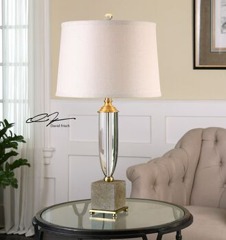 Uttermost Lurano Crystal Table Lamp