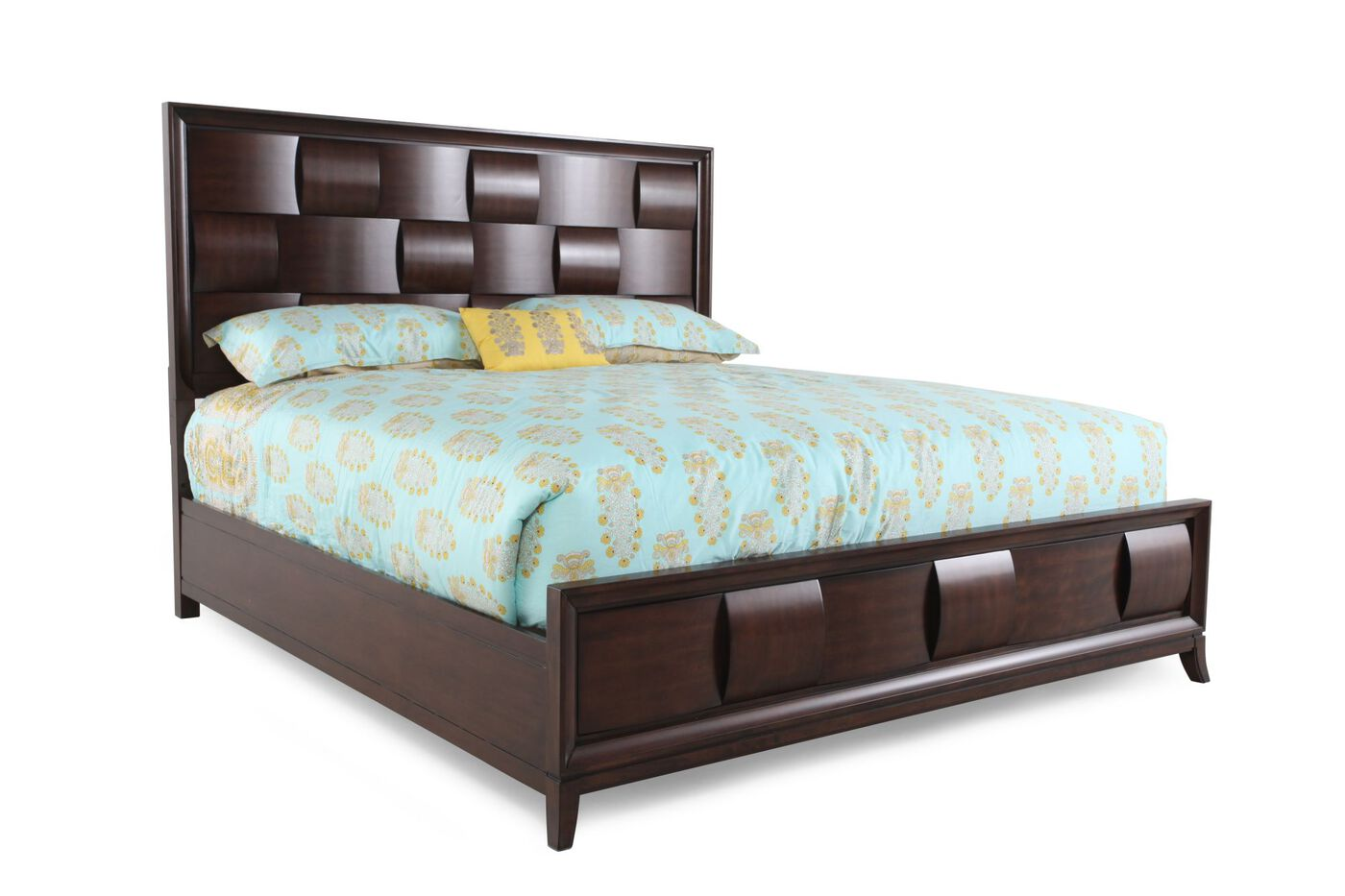 Magnussen Home Ribbons Bed Mathis Brothers Furniture