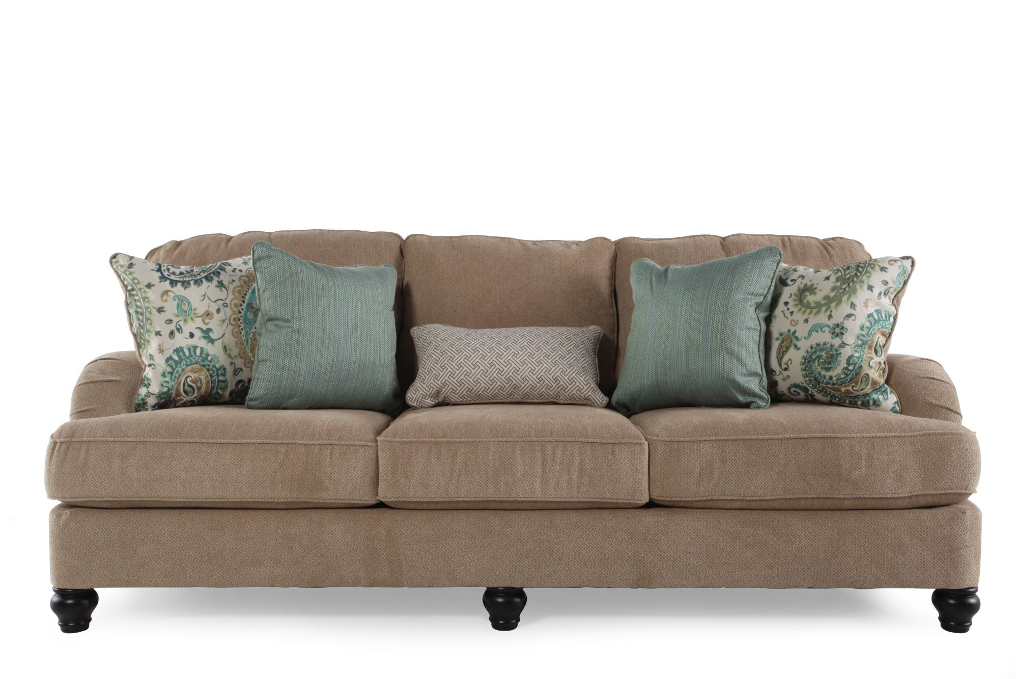 ... Mathis Brothers Sofa Tables By Ashley Lochian Bisque Sofa Mathis  Brothers Furniture ...