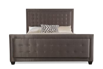 Bernhardt Jet Set Upholstered Panel Bed
