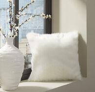 Ashley Himena White Pillow