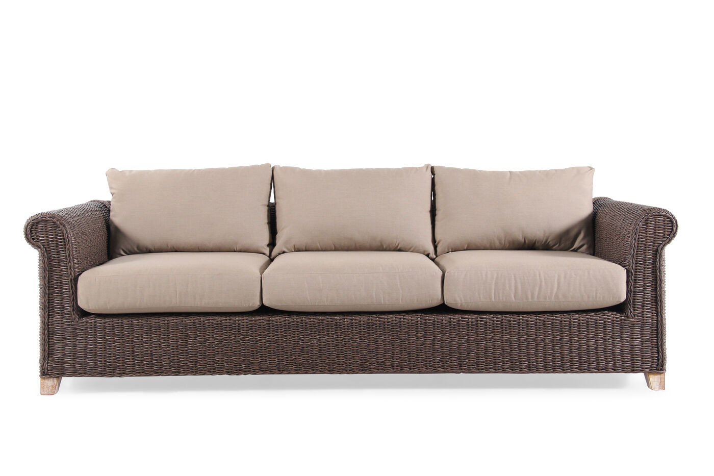 Outdoor Wicker Sofa from World Source