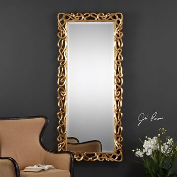 Uttermost Coulant Gold Mirror