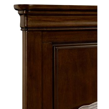 Stone & Leigh Teaberry Lane Midnight Cherry Twin Panel Bed