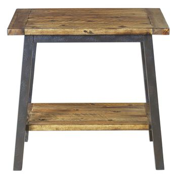 Uttermost Ruslan Square Side Table