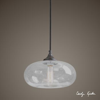 Uttermost Torus 1 Light Mini Pendant