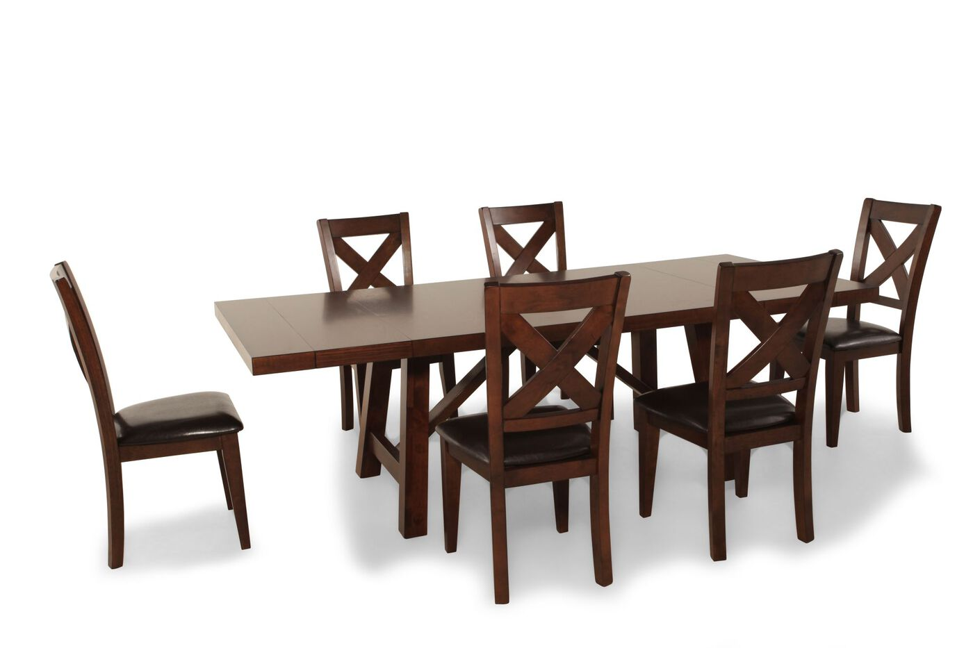 mathis brothers dining room sets | 7 Piece Dining Set by Winners Only | Mathis Brothers