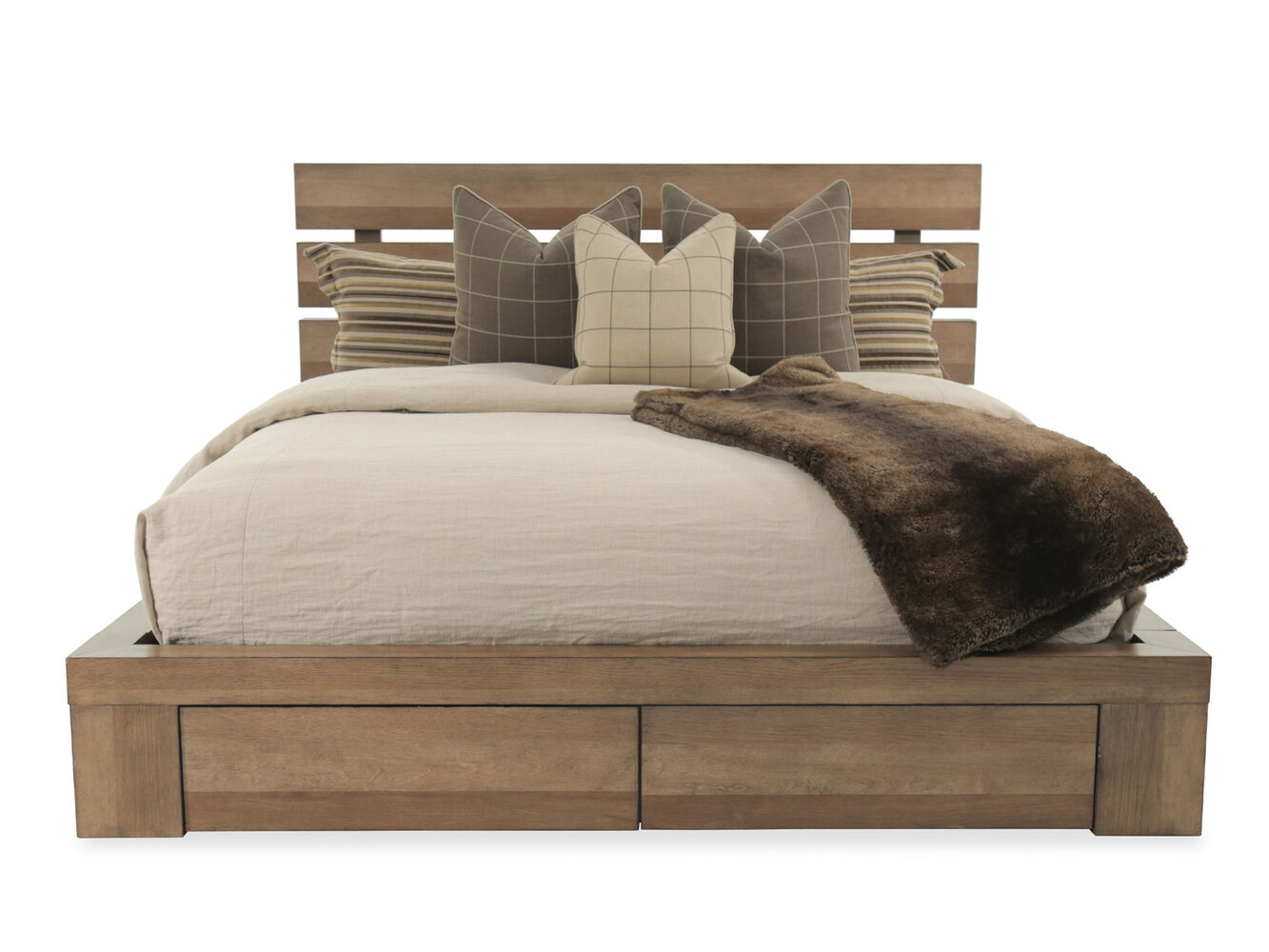 A R T Furniture Williamsburg Epicenters Storage Bed Mathis Brothers Furniture