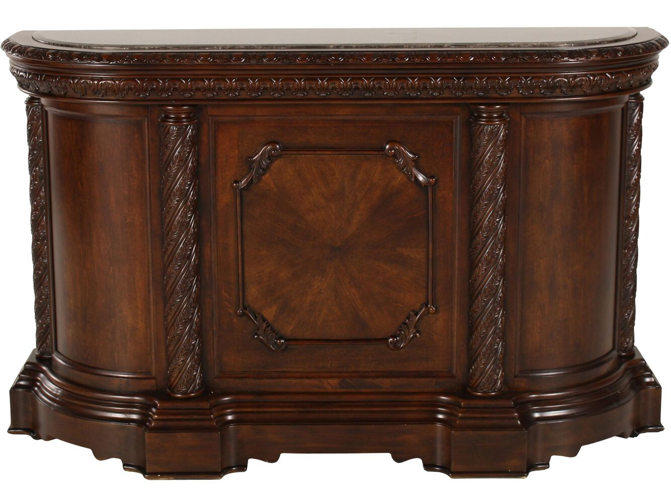 Ashley Millennium North Shore Marble Top Bar Mathis Brothers Furniture