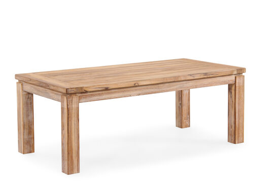 World Source Vineyard Haven Teak Coffee Table