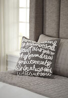 Ashley Alfie Gray Pillow Cover