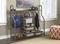 Ashley Metal Accents Gray Large Organizer