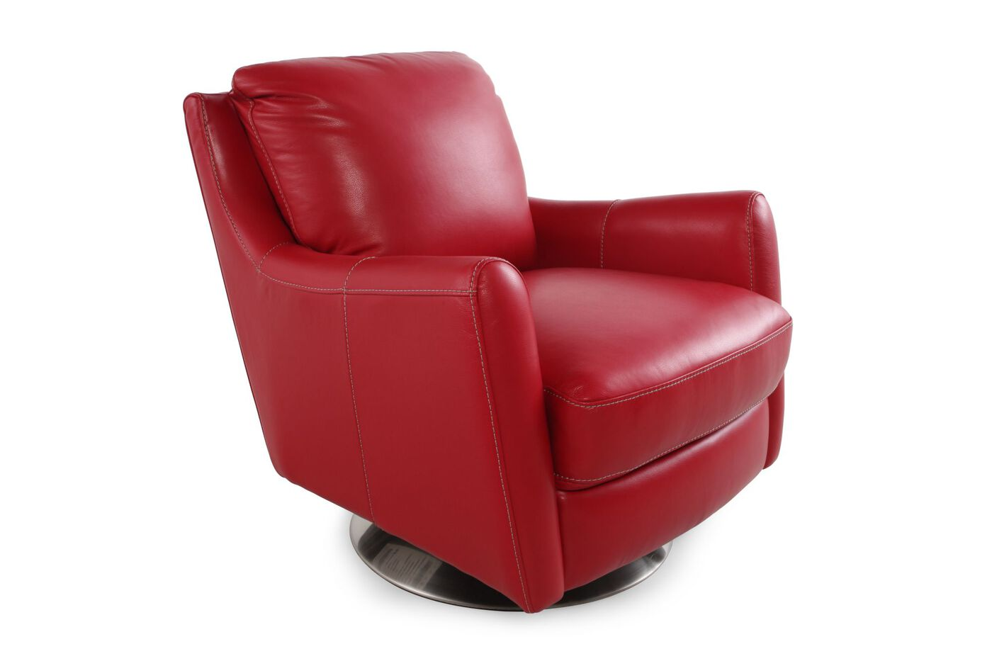 Lazboy Xavier Red Leather Swivel Chair  Mathis Brothers. Dorm Room Items. Interior Design Study Room. Dining Room Furniture San Diego. Drop Leaf Dining Room Table. Cleaning Room Games. Dressing Rooms Design. Kitchen Living Room Design. Un Delegates Dining Room
