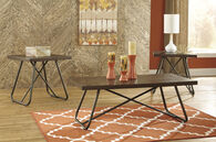 Ashley Endota Medium Brown Occasional Table Set
