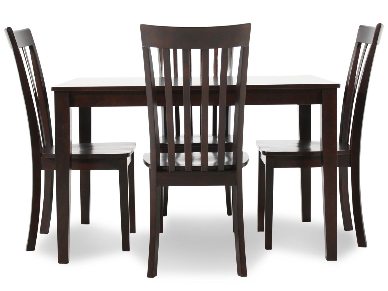 Ashley 5 piece dining set mathis brothers for 2 piece dining room set