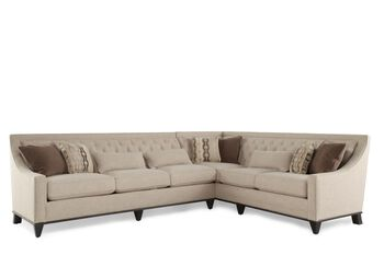 A.R.T. Furniture Wythe Coffee Bean Sectional