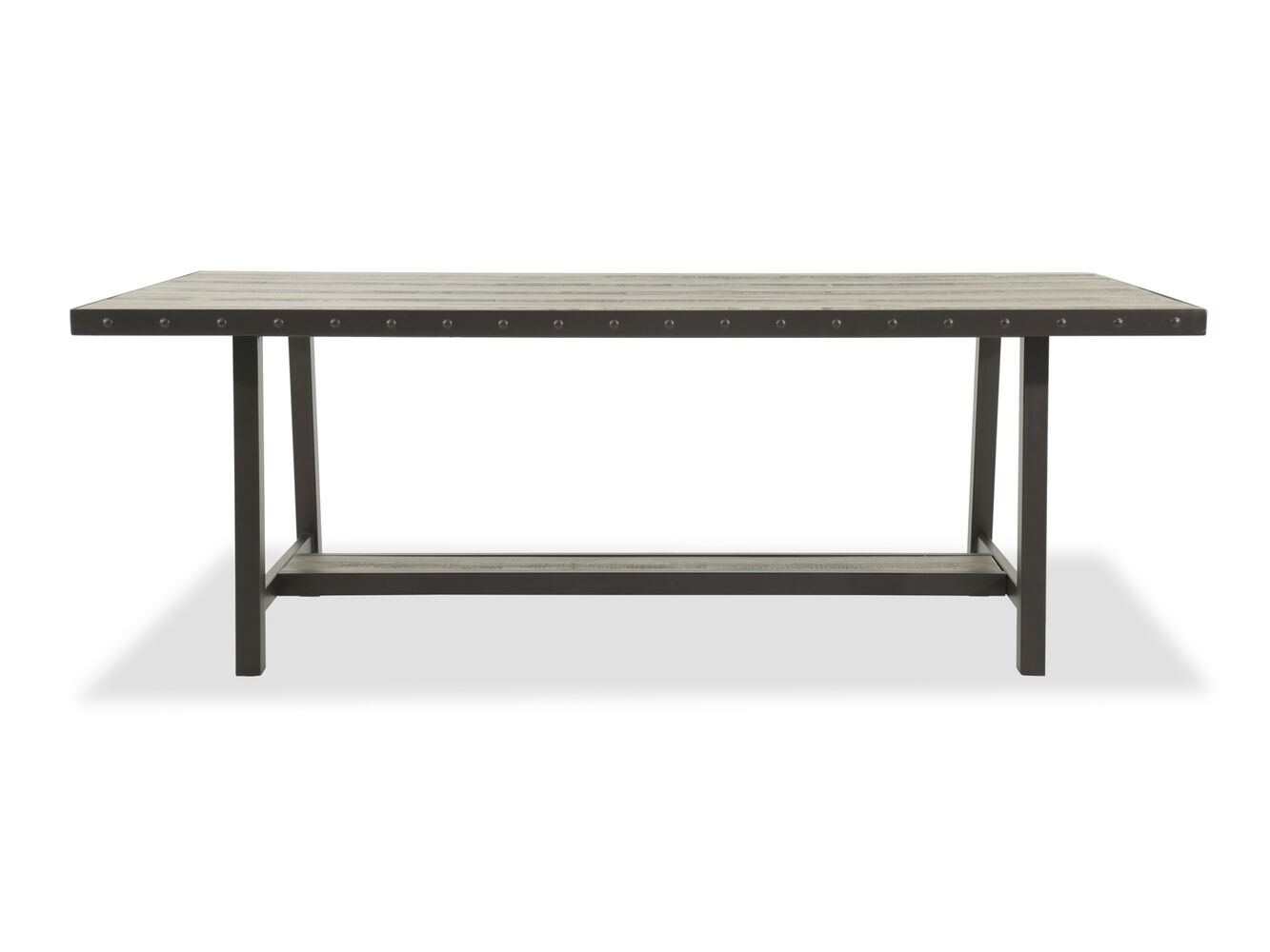 Hillsdale Dining Table Hillsdale Jennings Dark Brown Rectangular Dining Table Mathis