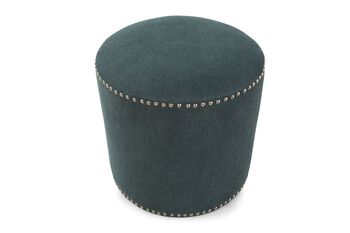 Ashley Reveal Teal Accent Ottoman