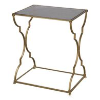Uttermost Caitland Antique Gold Accent Table