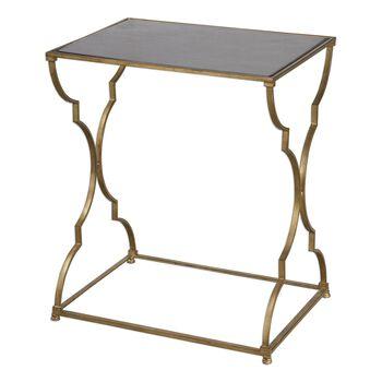 Uttermost Caitland Antique Gold Accent Table