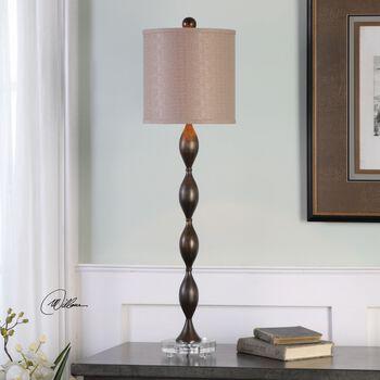 Uttermost Pamlico Dark Bronze Buffet Lamp