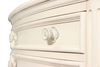 Legacy Haven White Two-Drawer Nightstand