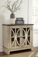 Ashley Vennilux Bisque Door Accent Cabinet