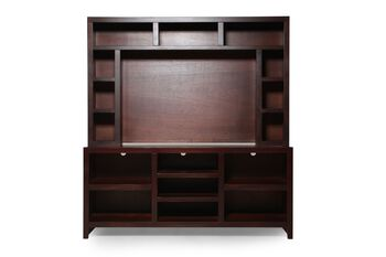 Aspen Essentials Lifestyle Console with Hutch