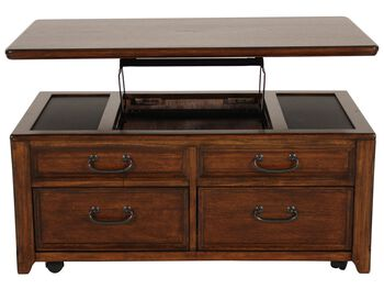 Ashley Woodboro Lift Top Cocktail Table
