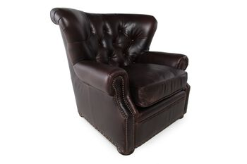 Rachlin Classics Kai Leather Chair