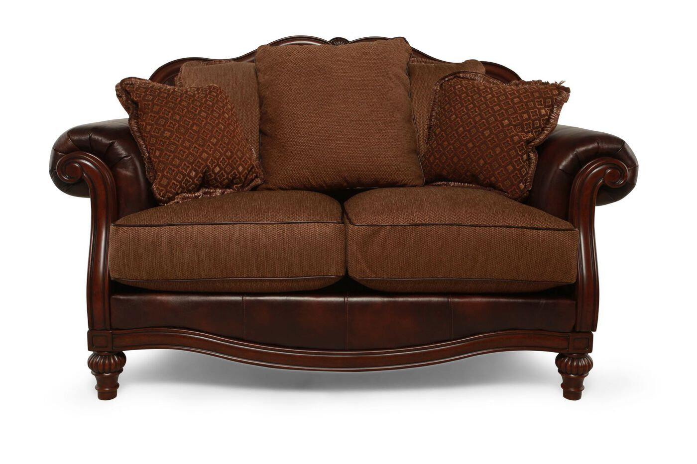 Ashley Clairemore Antique Loveseat Mathis Brothers Furniture