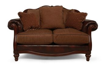 Ashley Clairemore Antique Loveseat