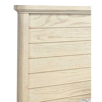 Stone & Leigh Driftwood Park Vanilla Oak Full Panel Bed