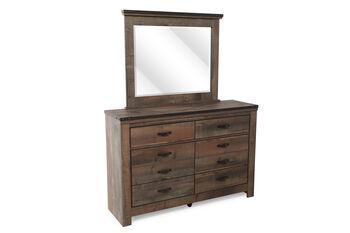 Ashley Trinell Dresser and Mirror