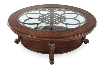 Ashley sydmore cocktail table mathis brothers furniture for Rent cocktail tables near me