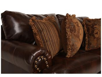Ashley Millennium Performance Leather Antique Loveseat