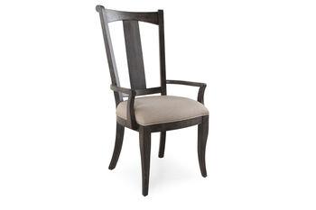 Hooker Vintage West Upholstered Splatback Arm Chair