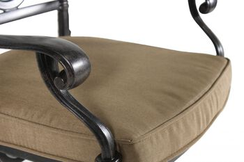 World Source St. Louis Swivel Bar Stool with Cushion